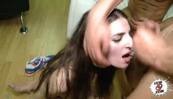 Big booty Aletta Ocean prefers double penetration and deep anal