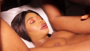 Anal punishment for her ass with oil