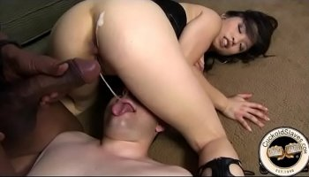 asian milf rei kitajima takes four cum injections in her mouth