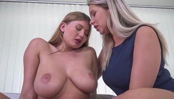 My brother's dirty girlfriend Cherry Morgan with big boobs