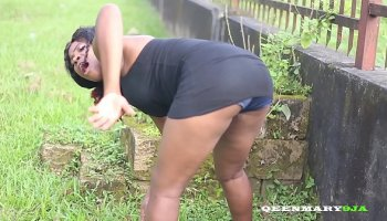 A young black boy fucks his mature boss that squirting